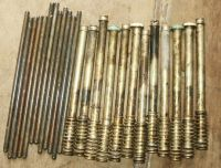 12 Continental 470 Push Rods, Covers & Springs